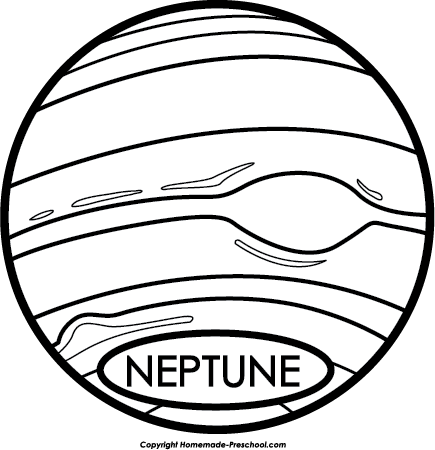 Neptune PNG Black And White Transparent Neptune Black And