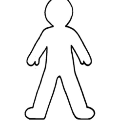 doll outline template clipart best person outline clip art [ 1275 x 1650 Pixel ]
