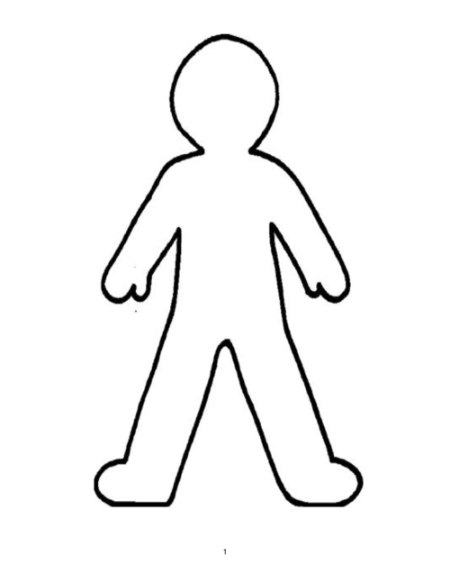 small resolution of doll outline template clipart best person outline clip art