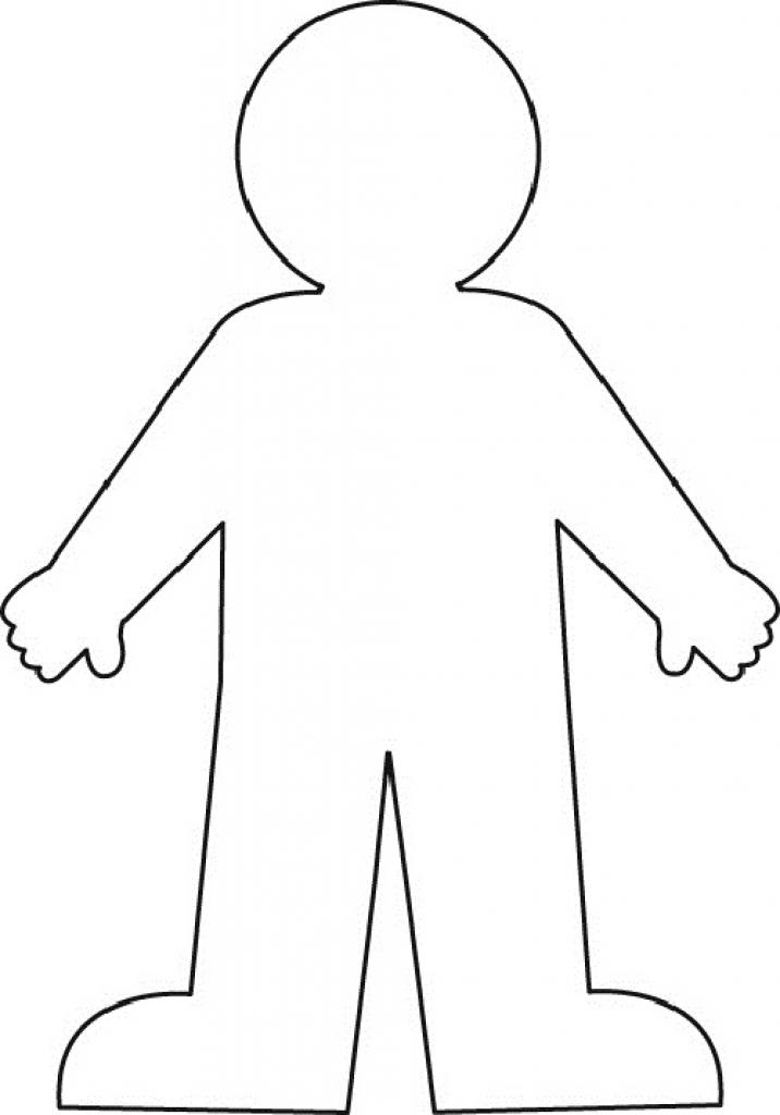 Person Outline Clip Art Transparent Person Outline Clip
