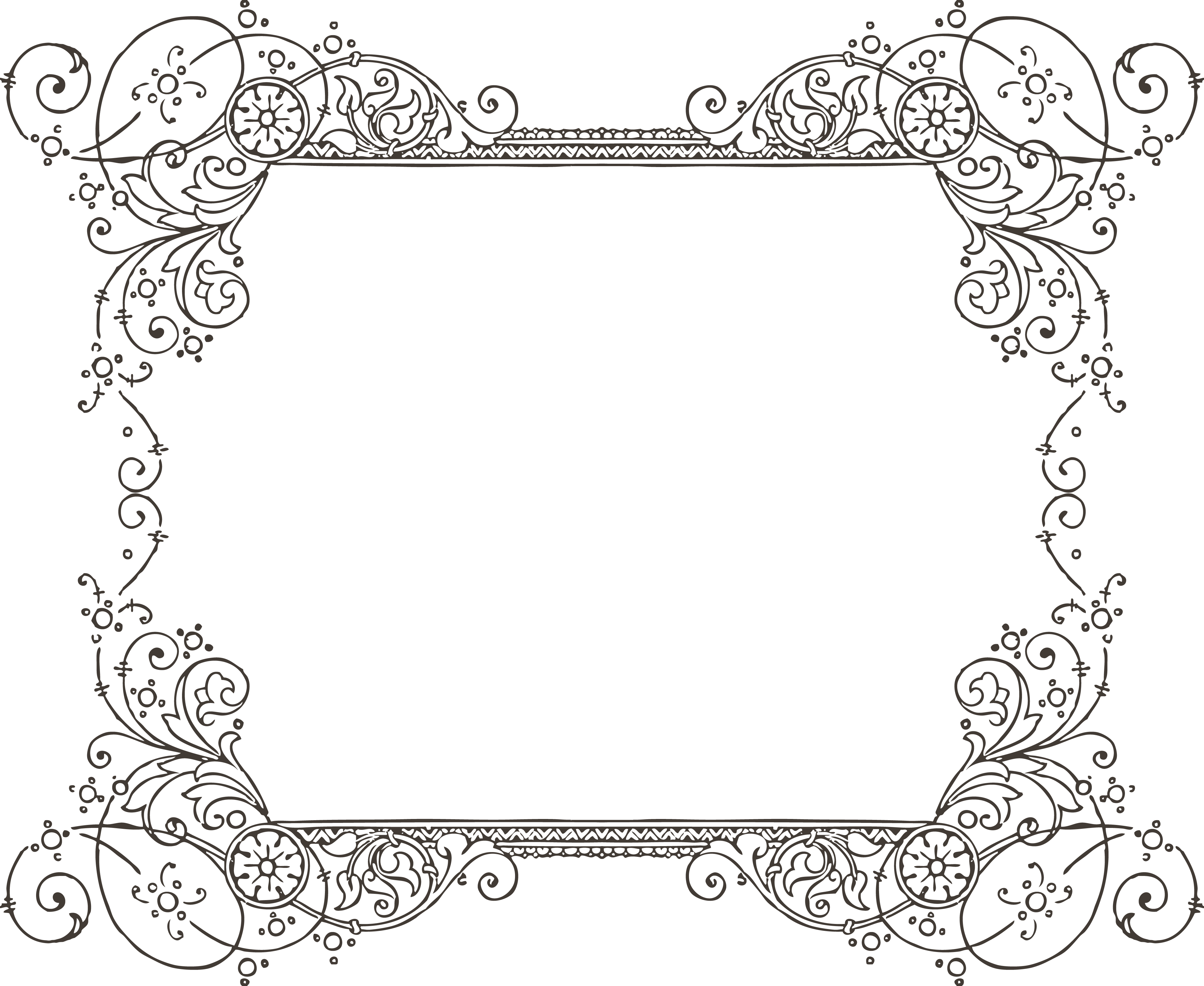 PNG Fancy Borders Transparent Fancy Borders.PNG Images