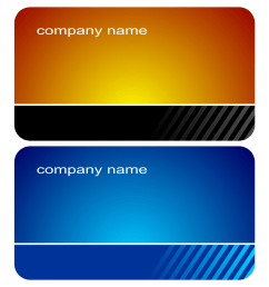 2 stylish business cards vector png for business use [ 1500 x 1500 Pixel ]