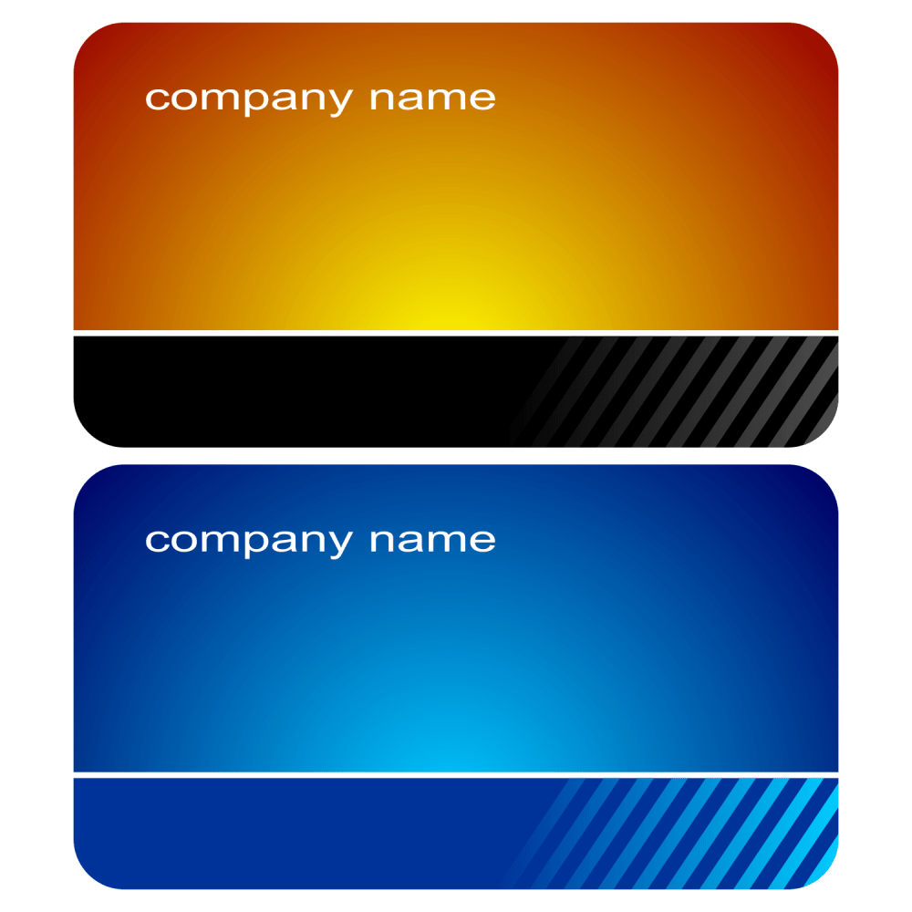 medium resolution of 2 stylish business cards vector png for business use
