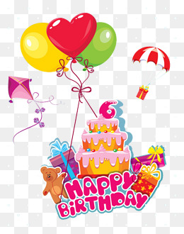 Png Hd Birthday Cake And Balloons Transparent Hd Birthday Cake And