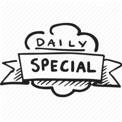 menu special icon restaurant daily transparent icons pluspng
