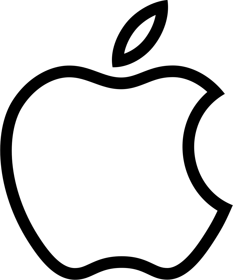 PNG Outline Apple Transparent Outline ApplePNG Images