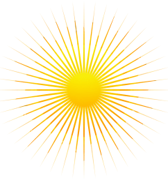 yellow sunrays transparent 2 png sunrays hd png [ 1024 x 1024 Pixel ]