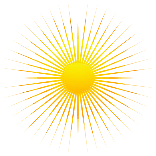 small resolution of yellow sunrays transparent 2 png sunrays hd png