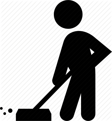Sweeping PNG Black And White Transparent Sweeping Black