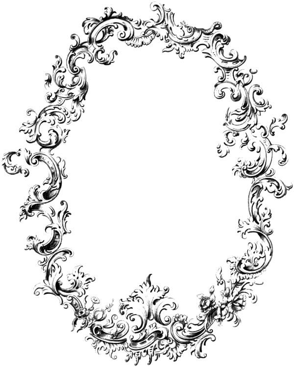Vintage Oval Frame PNG Transparent Vintage Oval FramePNG