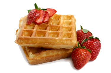 waffle breakfast transparent erdbeeren waffeln pluspng go archive