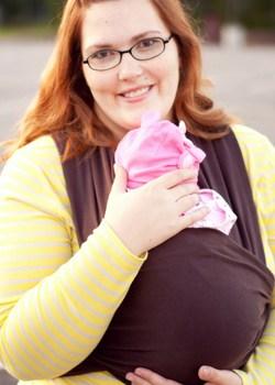 Moby Wrap Plus Size Babywearing