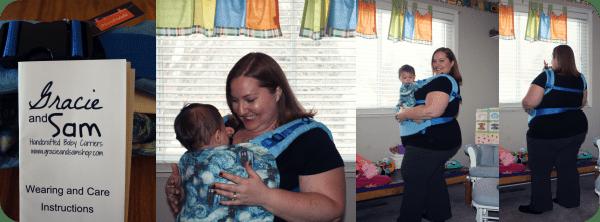 Babywearing plus size