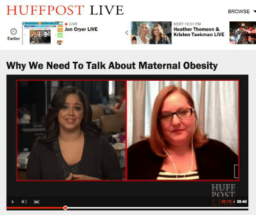 Why We Need To Talk About Maternal Obesity