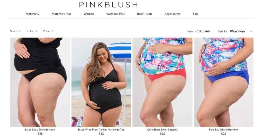 Plus Size Maternity Swimsuit