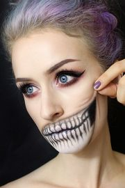 cute and scary halloween hairstyles