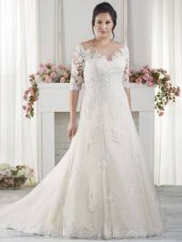 50 Decent Wedding Dresses for Older Brides Over 60 - Plus ...