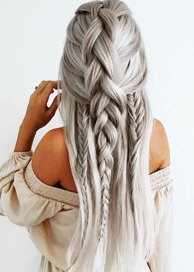 Image Result For Over Long Hairstyles