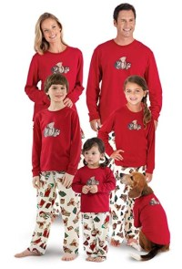 60 Cute Matching Dog and Owner Pajamas - Christmas Dogs ...