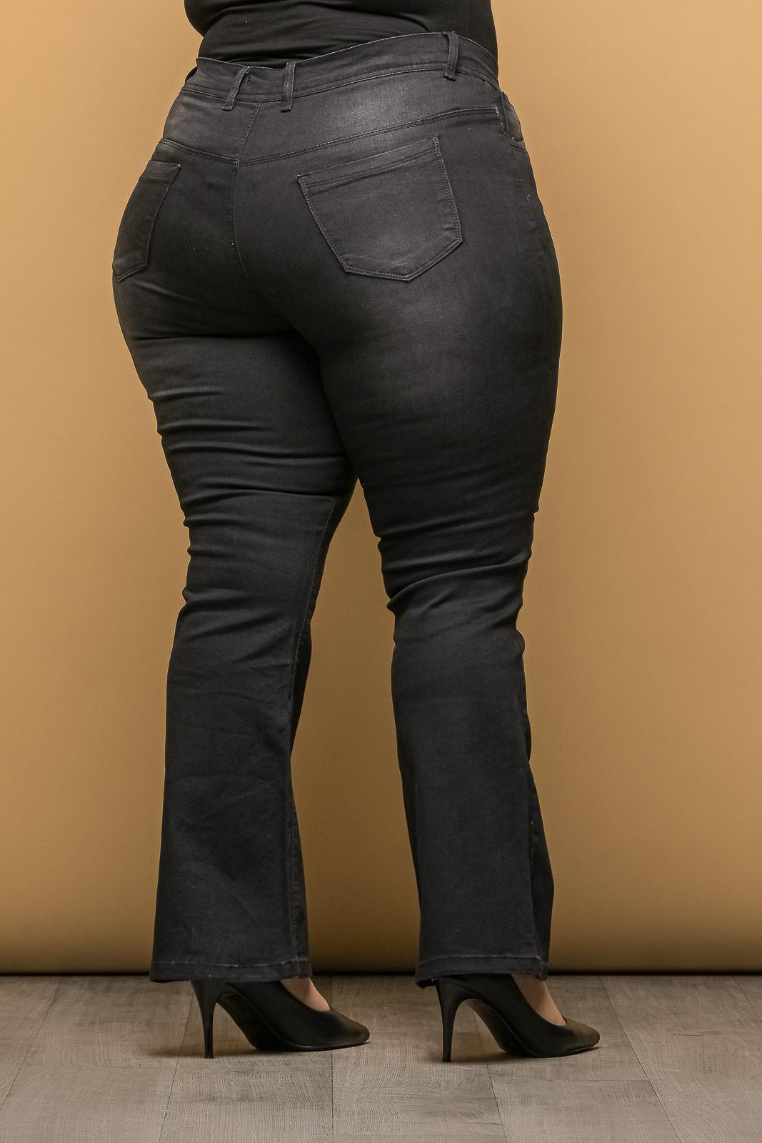 Τζιν +Psx μεγάλα μεγέθη ελαστικό μαύρο πετροπλυμένο καμπάνα .Στο eshop μας θα βρείτε οικονομικά γυναίκεια ρούχα σε μεγάλα μεγέθη και υπερμεγέθη.
