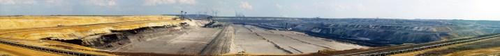 mine de charbon en Allemagne : 48km² à ciel ouvert