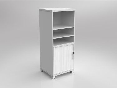 Bookcase tower tambour