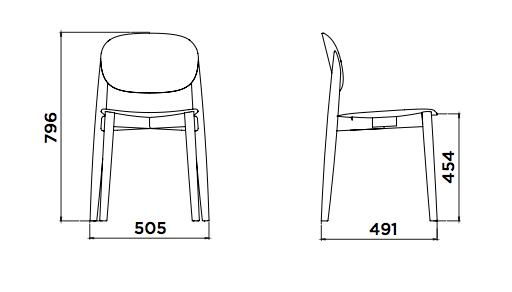Karlek Chair form Plus Workspace