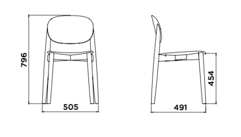 Karlek Chair form Plus Workspace