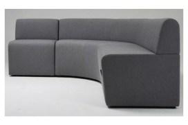 Como low back modular lounge