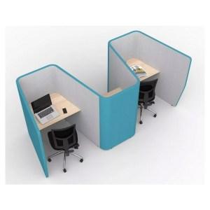 Zip Booth Work Pods