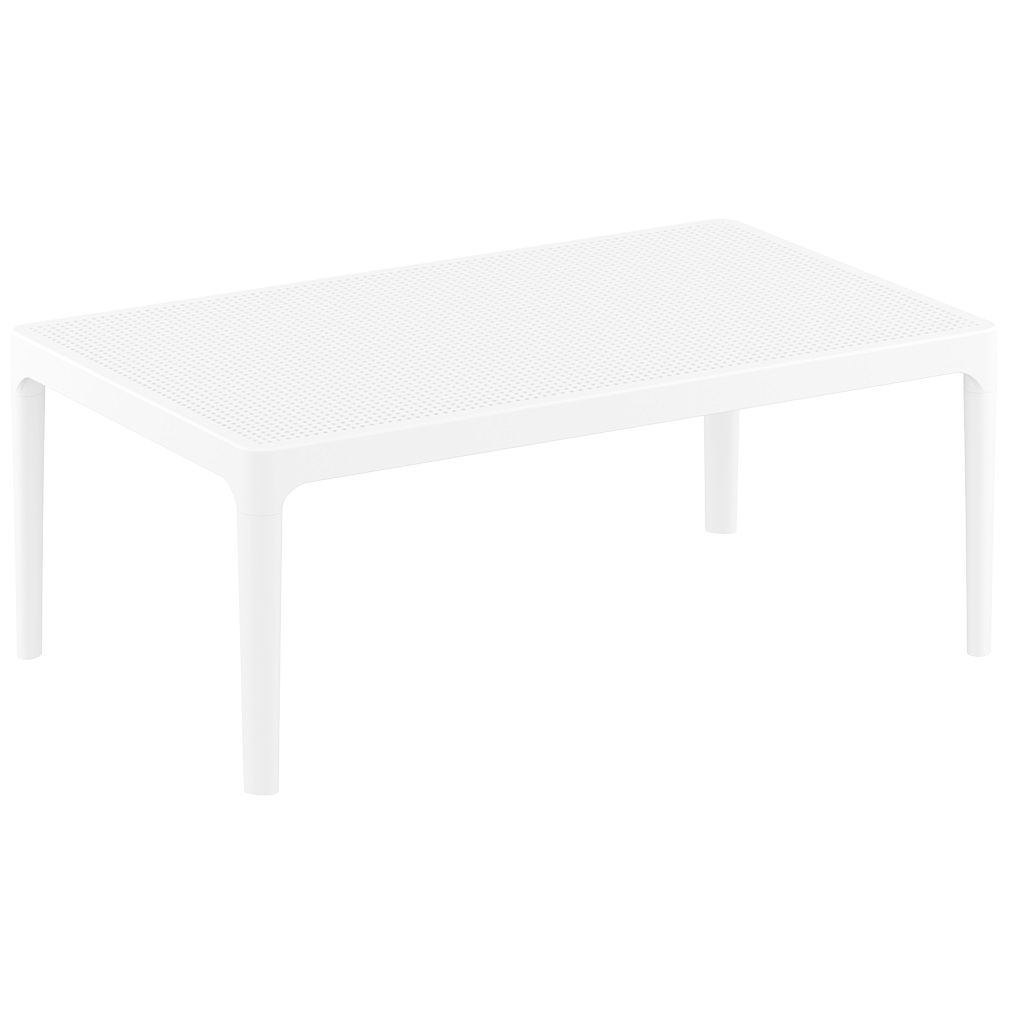 Ares Table Plus Workspace White