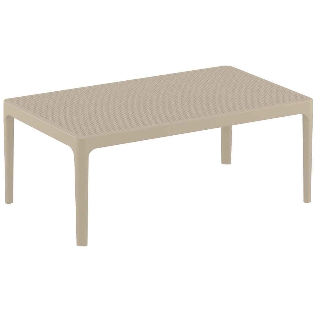 Ares Table Taupe Plus Workspace