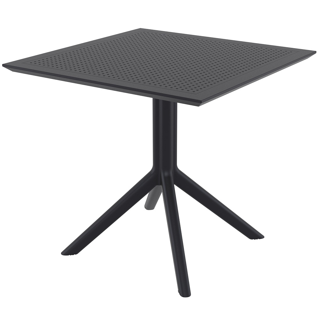 Ares café table Plus Workspace Black