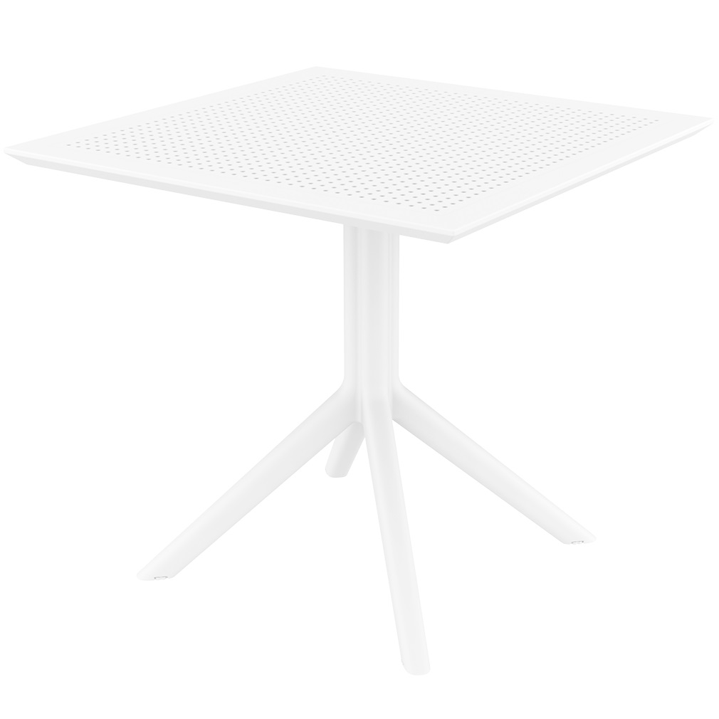 Ares café table Plus Workspace White