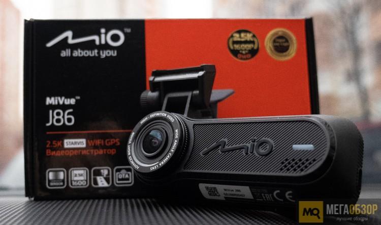 Обзор Mio MiVue J86. Видеорегистратор с QHD, GPS и Wi-FI