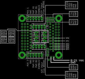 uNav_to_RoboPonter_Adapter_PCB_Layout