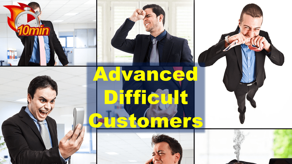 Advanced Difficult Customers - Pluto LMS Video Library