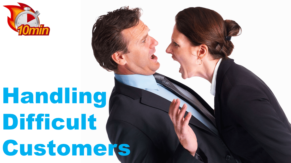 Handling Difficult Customers - Pluto LMS Video Library