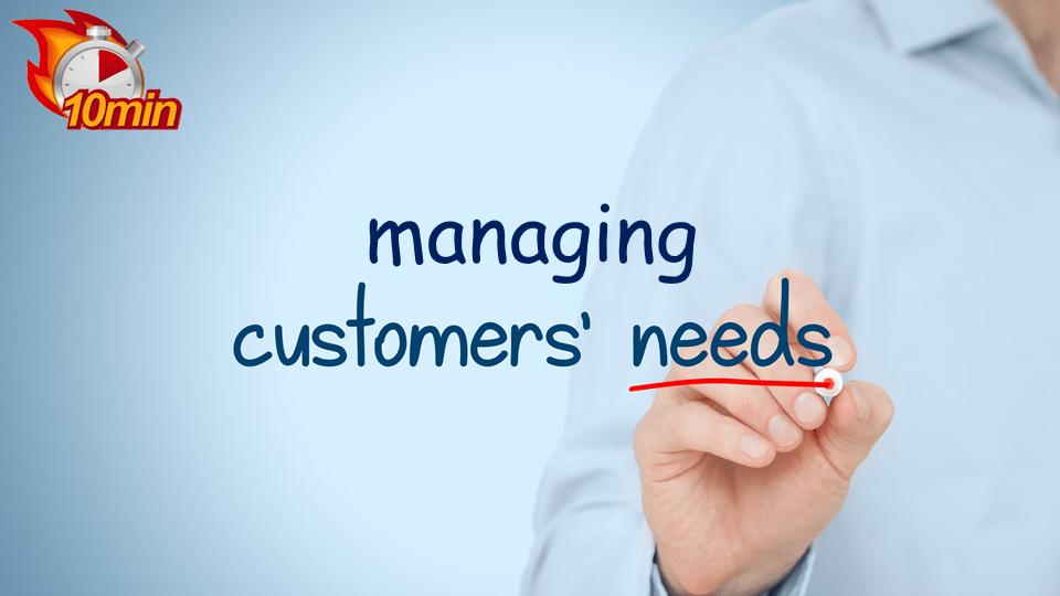 Managing Customer Needs - Pluto LMS Video Library