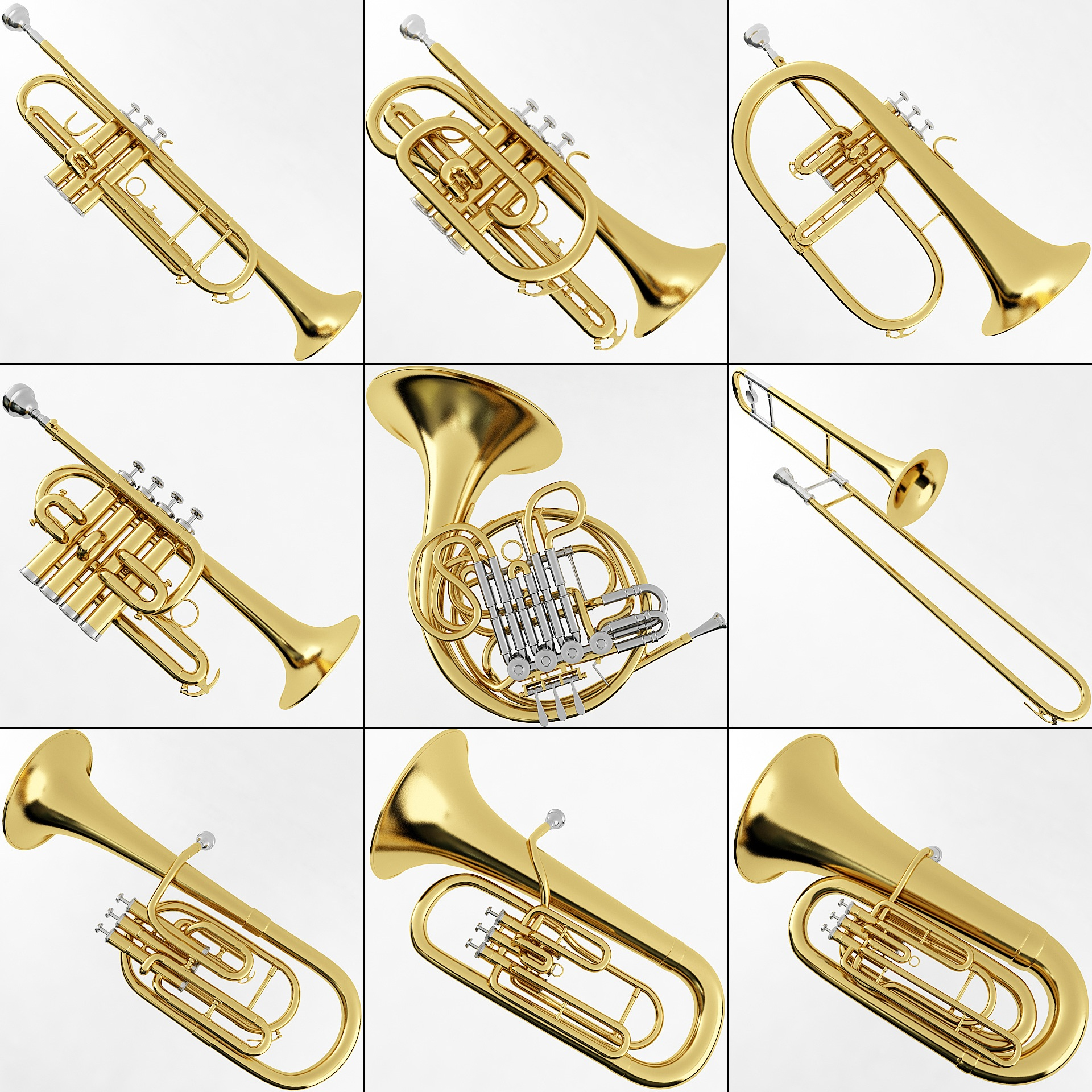 Musical Instruments  Plutonius 3D Affordable models