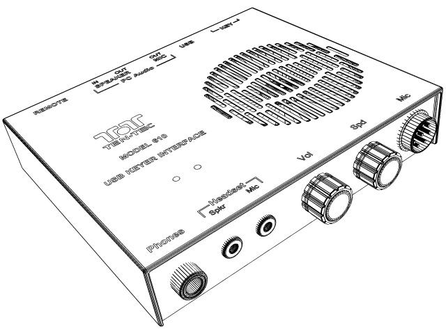 USB Keyer/Audio Interface USB Keyer/Audio Interface [USB