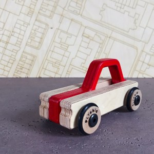 plywood toy car
