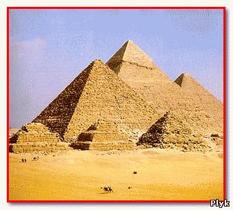 Пирамиды Гизы - пример использования последовательности Фибоначи в архитектуре