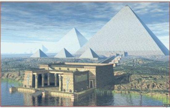 Пирамиды Древнего Египта