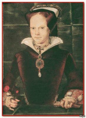 Мария Тюдор стала первой Кровавой Мэри и это уже не городская легенда