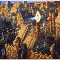 Этапы развития жилищ, поселения  и городища древних славян