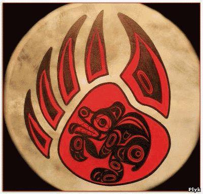 Что обозначают рисунки на бубне шамана