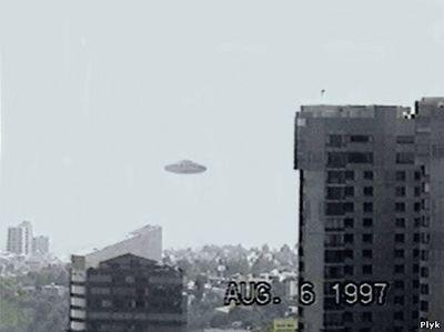 Рассказ очевидца о НЛО
