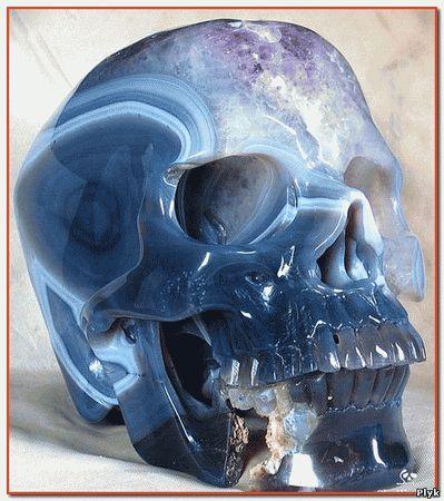 Артефакт древней цивилизации майя хрустальный череп