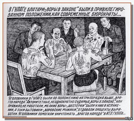 Рисунки заключенных глазами надзирателя ГУЛага